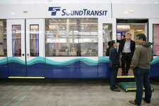 Siemens Industry, Inc. has completed the first new light rail vehicle (LRV) for Sound Transit, which they displayed during a media event at the Sound Transit Operations and Maintenance Fleet Facility, Wednesday, June 19, 2019. Sound Transit has ordered 152 new LRVs and plans to triple its existing fleet. Improvements on the new LRVs include more seating, larger windows, four bicycle hooks and new LED destination signs.