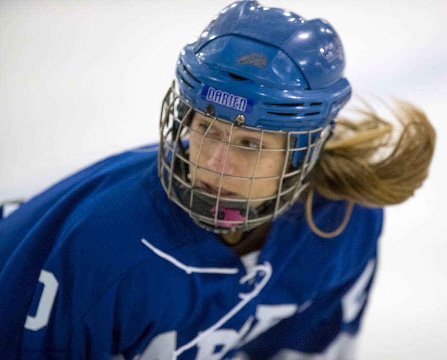 SEEN IT ALL — Captain KiKi Tropsa is one of the solid core of veteran comeback kids from the state title team. Courtesy Darien Athletic Foundation