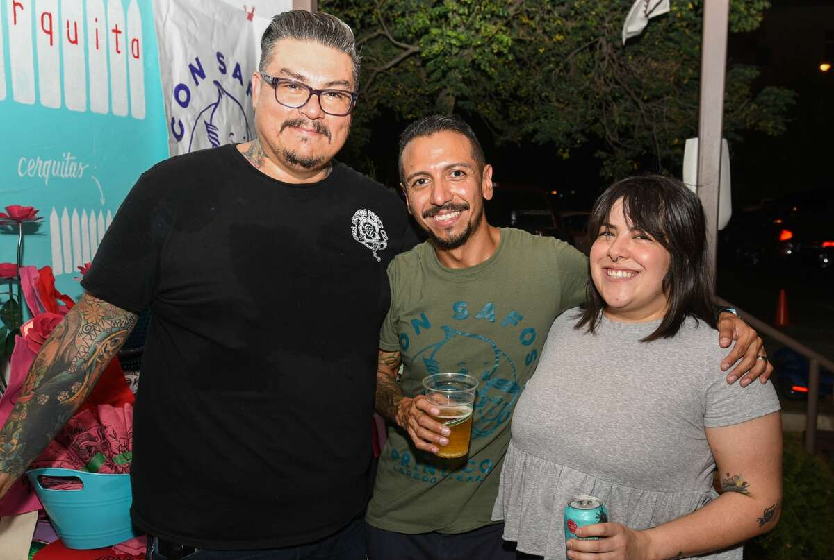 Party goers turn out for Vinyl Night at Cultura Beer Garden on Tuesday, Jun 18, 2019.