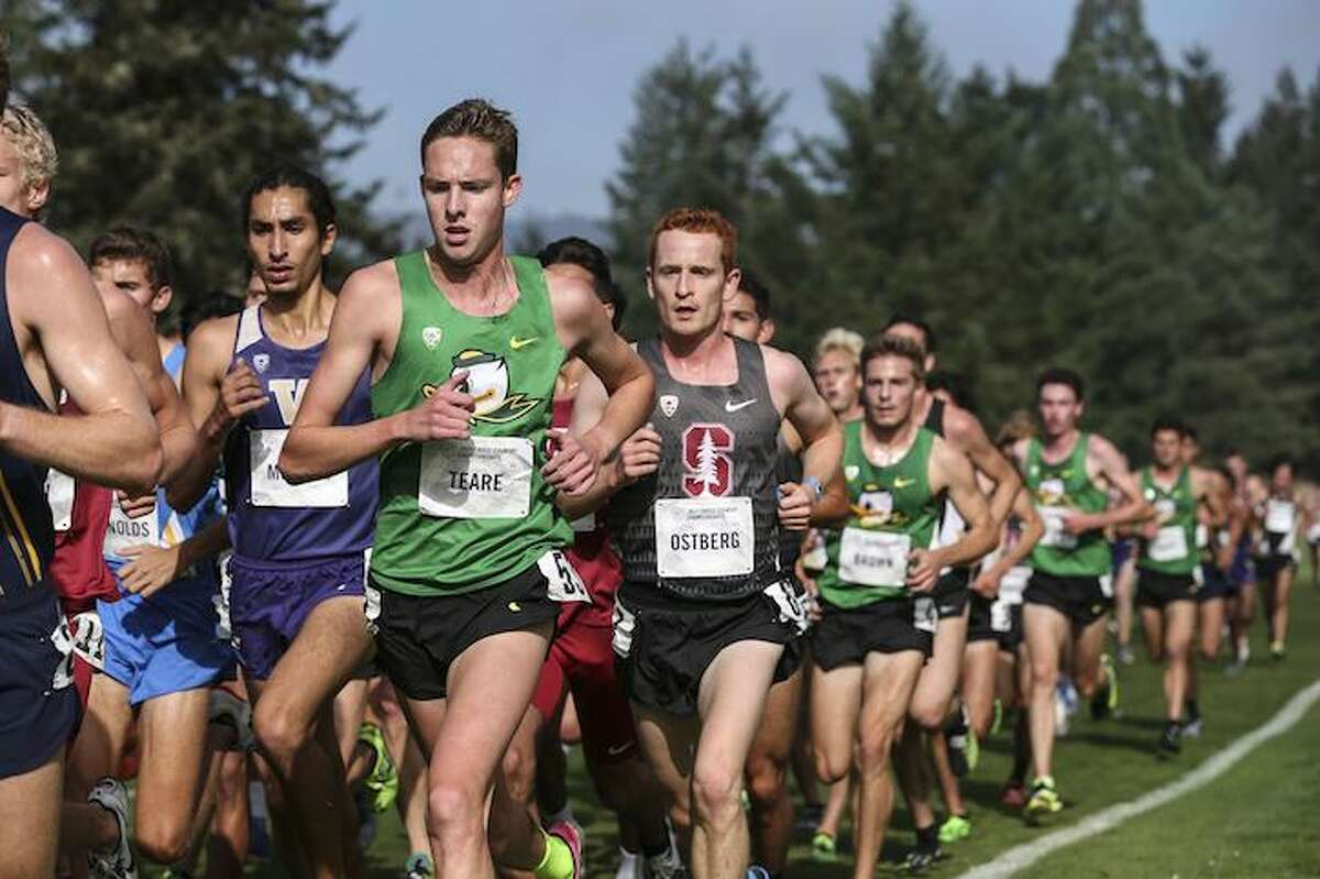Wave standout of the recent past Alex Ostberg runs big time at Stanford.