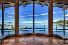 Casino magnate Bill Harrah's former Lake Tahoe estate listed $25.75 million features eight bedrooms spread across 20,000 square feet right on the lake