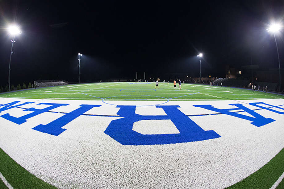 Fish eye view of the field