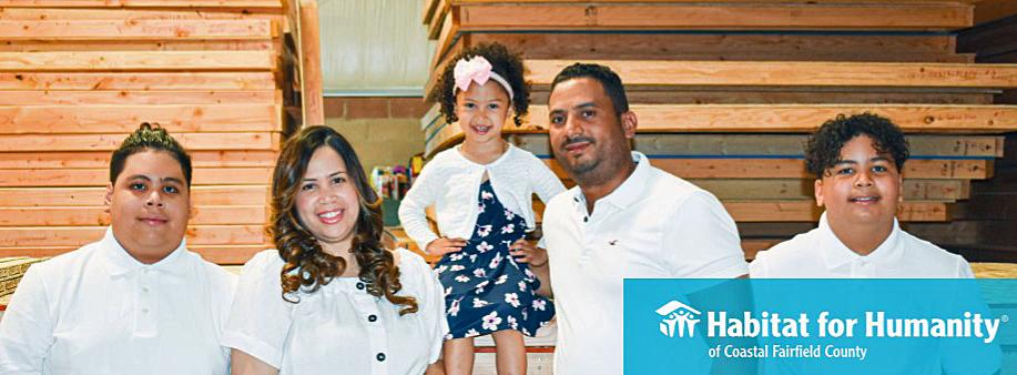 Bridgeport family gets new home through Habitat for Humanity