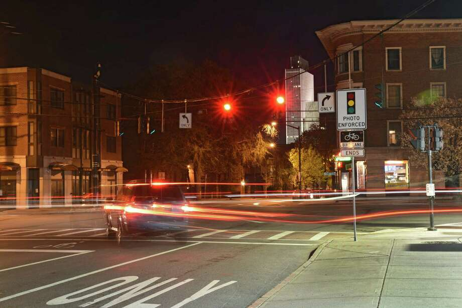 Click through the slideshow to see which of Albany's intersections with red light cameras caught the most violators in 2018. Photo: Lori Van Buren, Albany Times Union