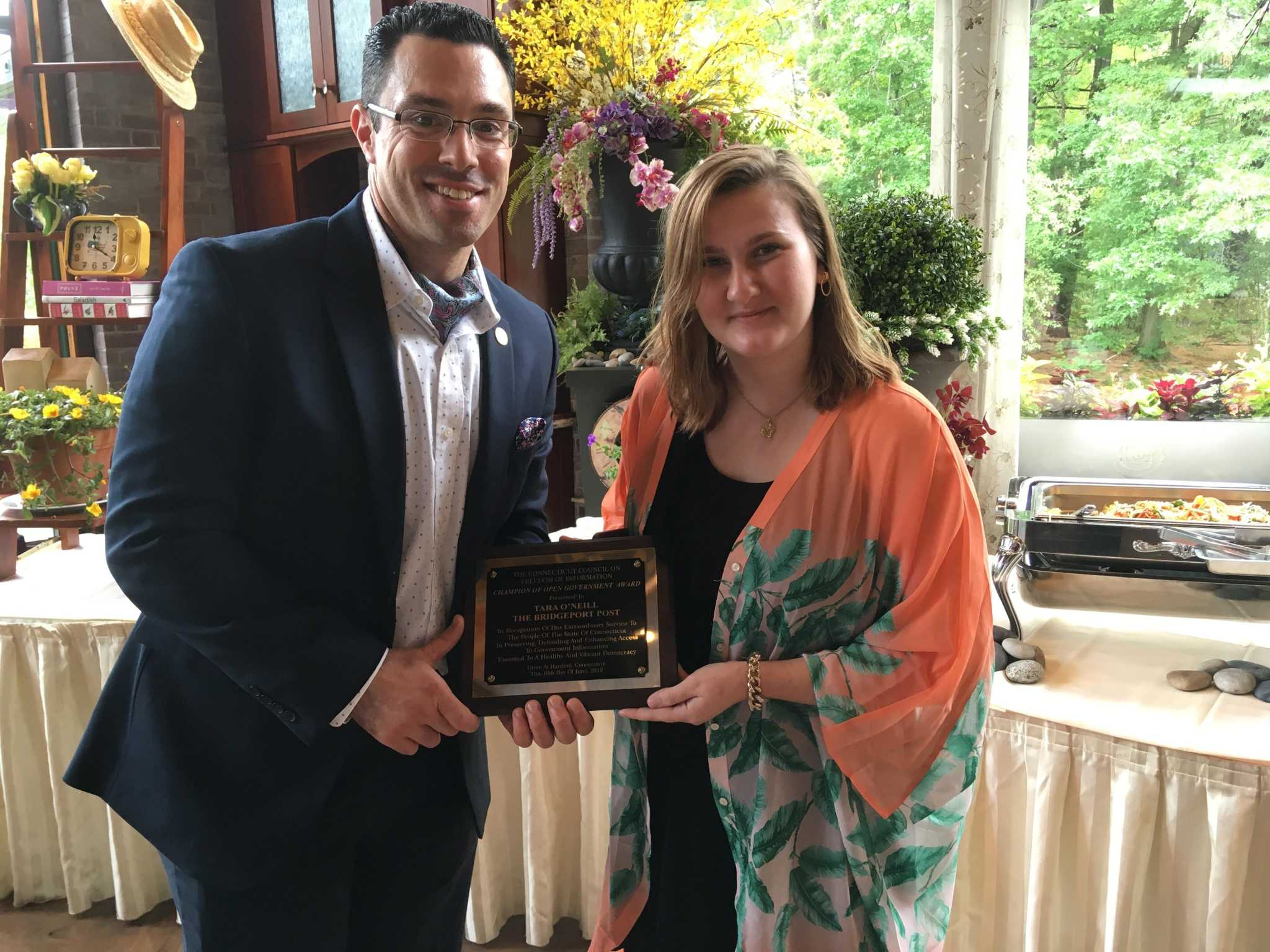 Hearst CT reporter named Champion of Open Government