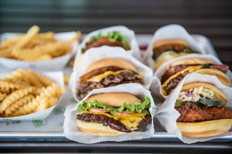 Shake Shack at 702 Main, formerly occupied by Brown Bag Deli, opens Tuesday, according to a release from representatives.