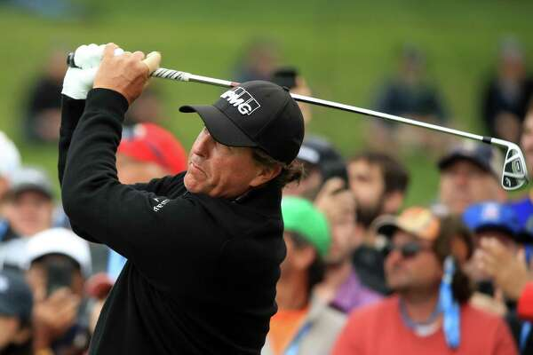 Phil Mickelson, seen here at last week's U.S. Open, is back in Connecticut to play the Travelers Championship after a 16-year hiatus.
