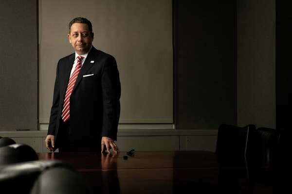 Felix Sater at his attorney's office in New York in March.