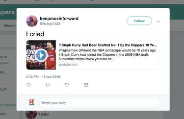Video imagines how NBA would be if Steph Curry was drafted by the