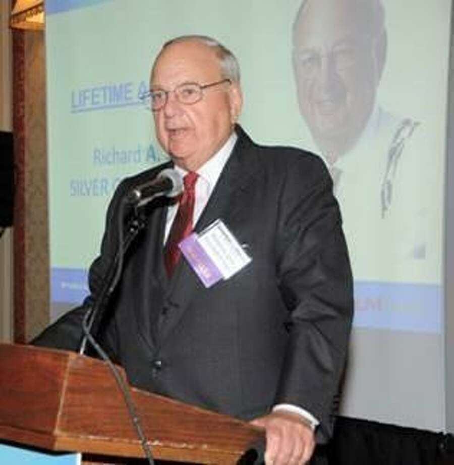 Richard A. Silver, a senior partner at Silver Golub Teitell, has received the Connecticut Law Tribune's 2019 Lifetime Achievement Award. Photo: Contributed Photo