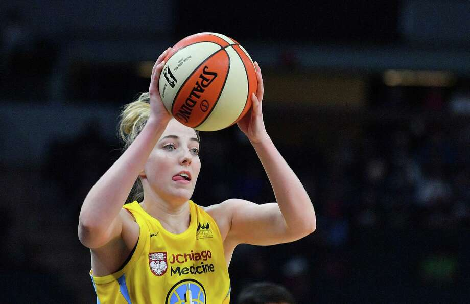 Former UConn star Katie Lou Samuelson of the Chicago Sky. Photo: Sam Wasson / Getty Images / 2019 Sam Wasson 2019 Sam Wasson