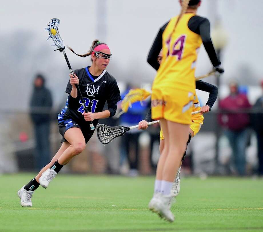 Vanessa Budd completes a brilliant career on the backline in women's lacrosse. / © Ryan Murray