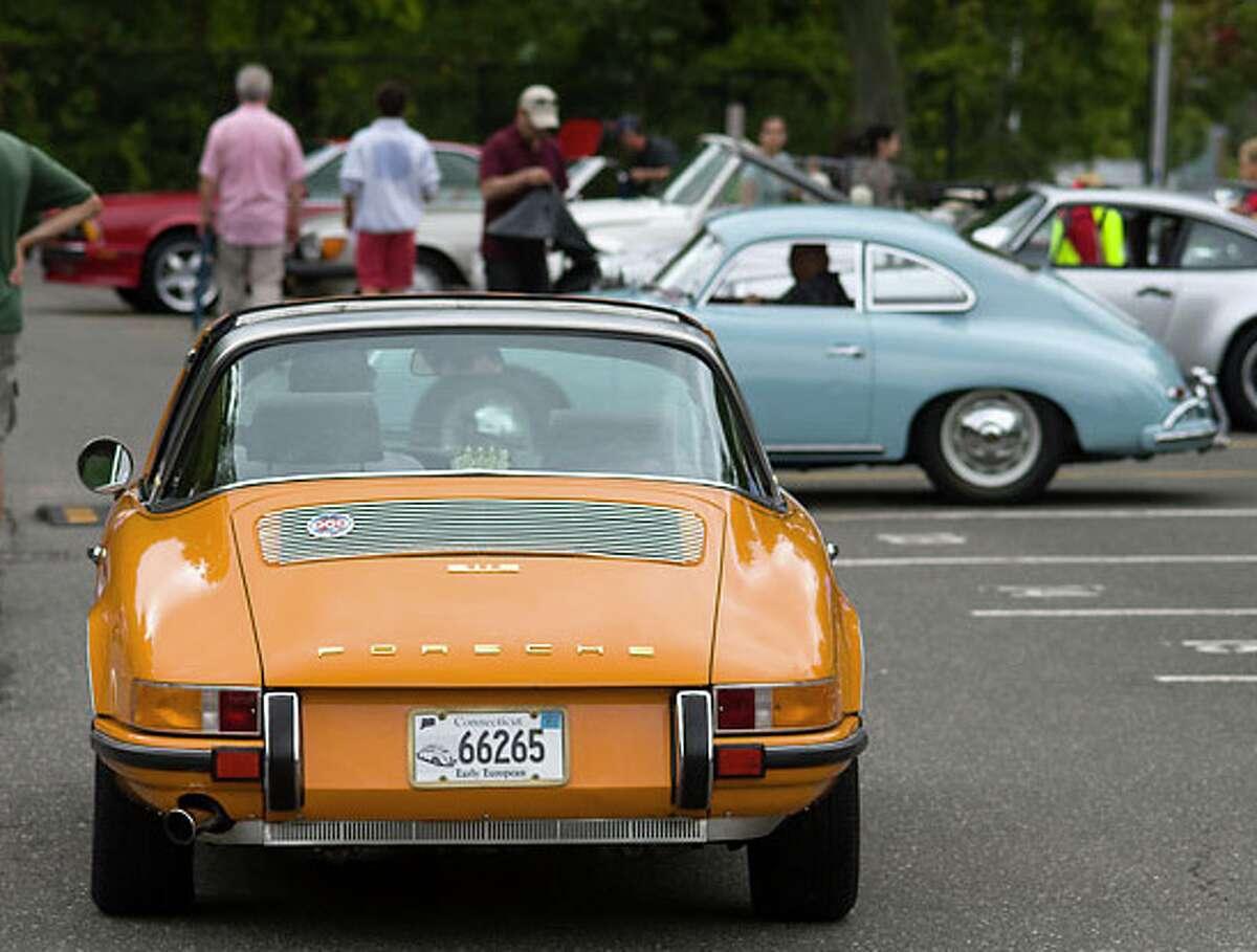 Darien Sidewalk Sales will include a classic car show - car entries are being sought. - Bryan Haeffele photo