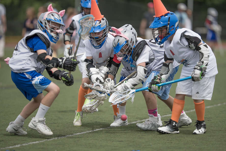 Kids dressed as all manner of lax-animals and beings in the spirit of the day. / (c)Mark Maybell