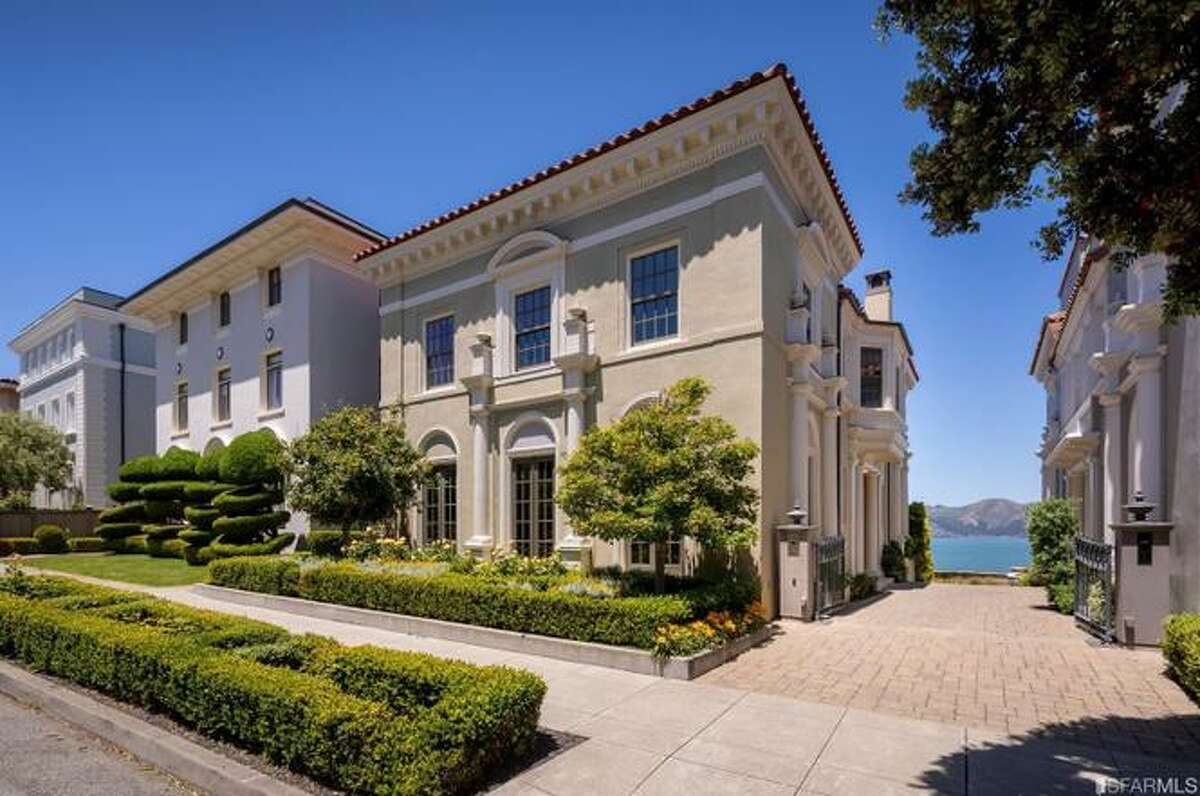 Spectacular home, view, neighborhood and price tag in this Sea Cliff stunner, asking just shy of $20M