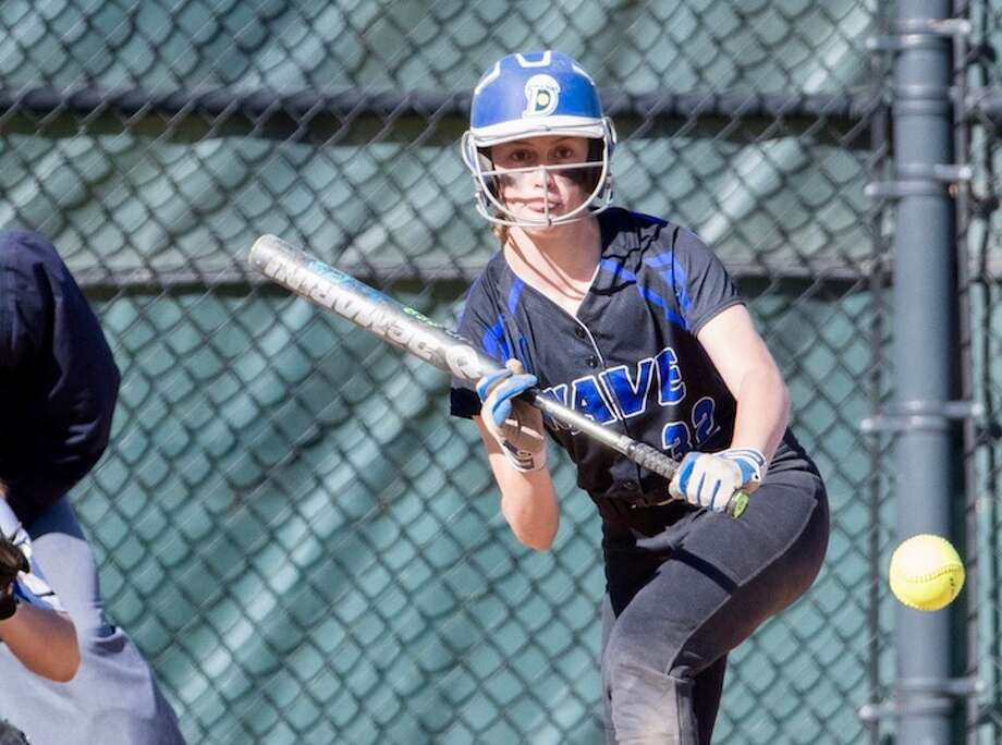 Hailey King put the finishing touches on the win. Courtesy Darien Athletic Foundation / (c)Mark Maybell
