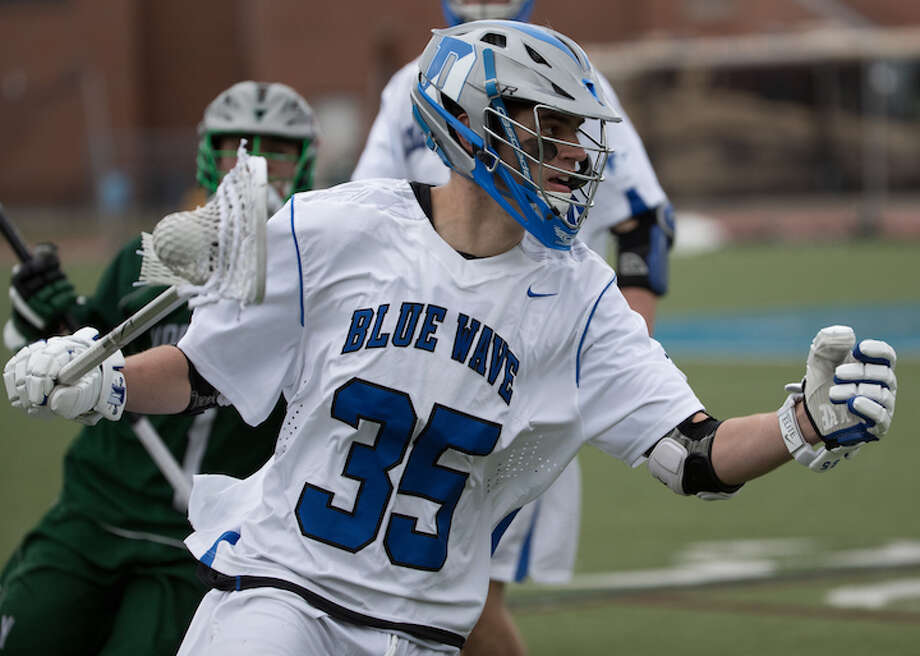 James Solberg in early season action. Courtesy Darien Athletic Foundation / (c)Mark Maybell