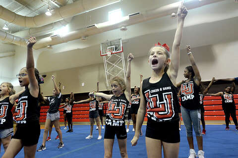 Photos: LU Summer camp puts pep in kids' steps - Beaumont Enterprise