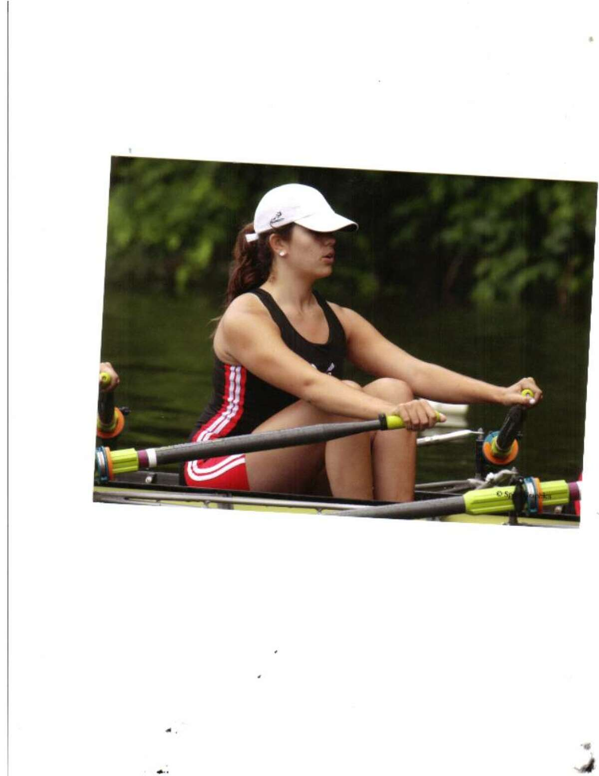 Rachel Upton graduated from Staples in June and will be rowing for Division I University of California at Berkeley.