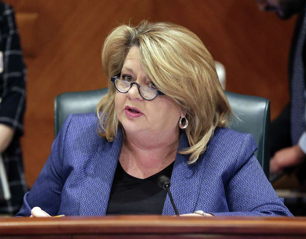 Brenda Stardig, District A city council member, speaks during a Houston City Council meeting Wednesday, Jun. 5, 2019 at City Hall in Houston, TX.