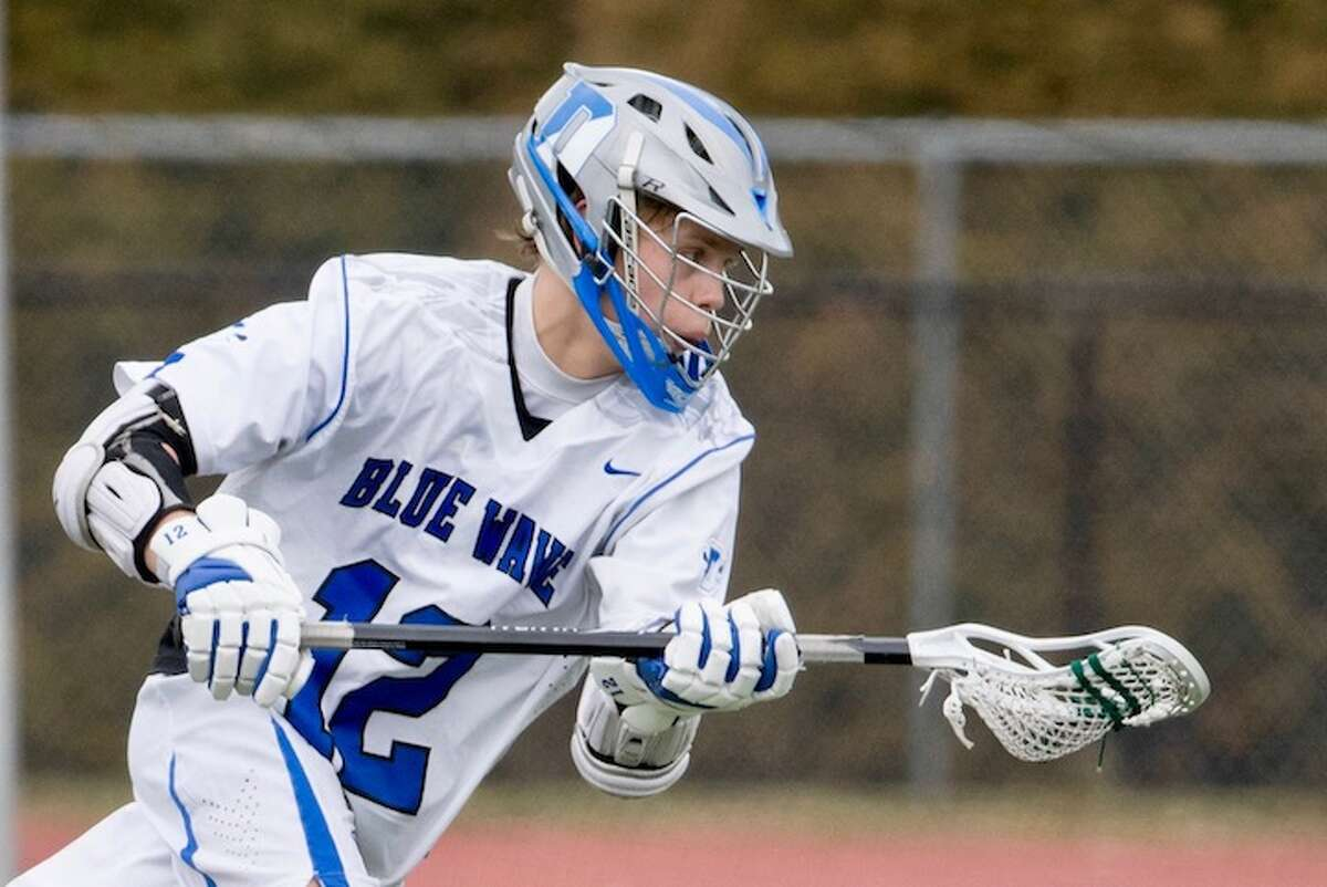 Lindley matched a Darien record with nine goals in a game. Courtesy Darien Athletic Foundation