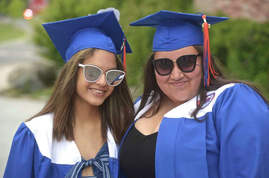 Danbury High School Class of 2019 Commencement, Wednesday, June 19, 2019, at Danbury High School, Danbury, Conn. Photo: H John Voorhees III, Hearst Connecticut Media / The News-Times