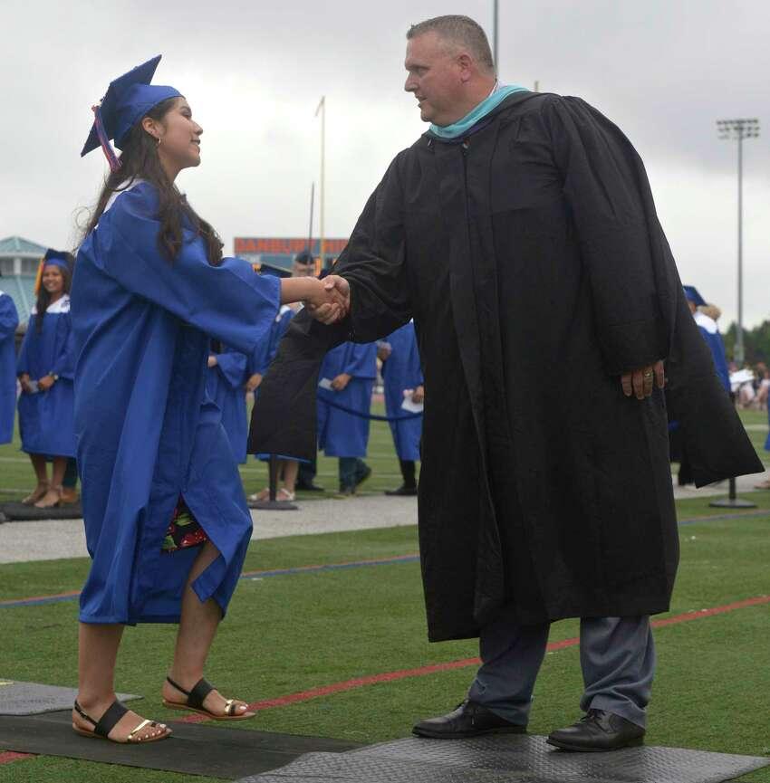 Danbury High School Class of 2019 Commencement, Wednesday, June 19, 2019, at Danbury High School, Danbury, Conn.