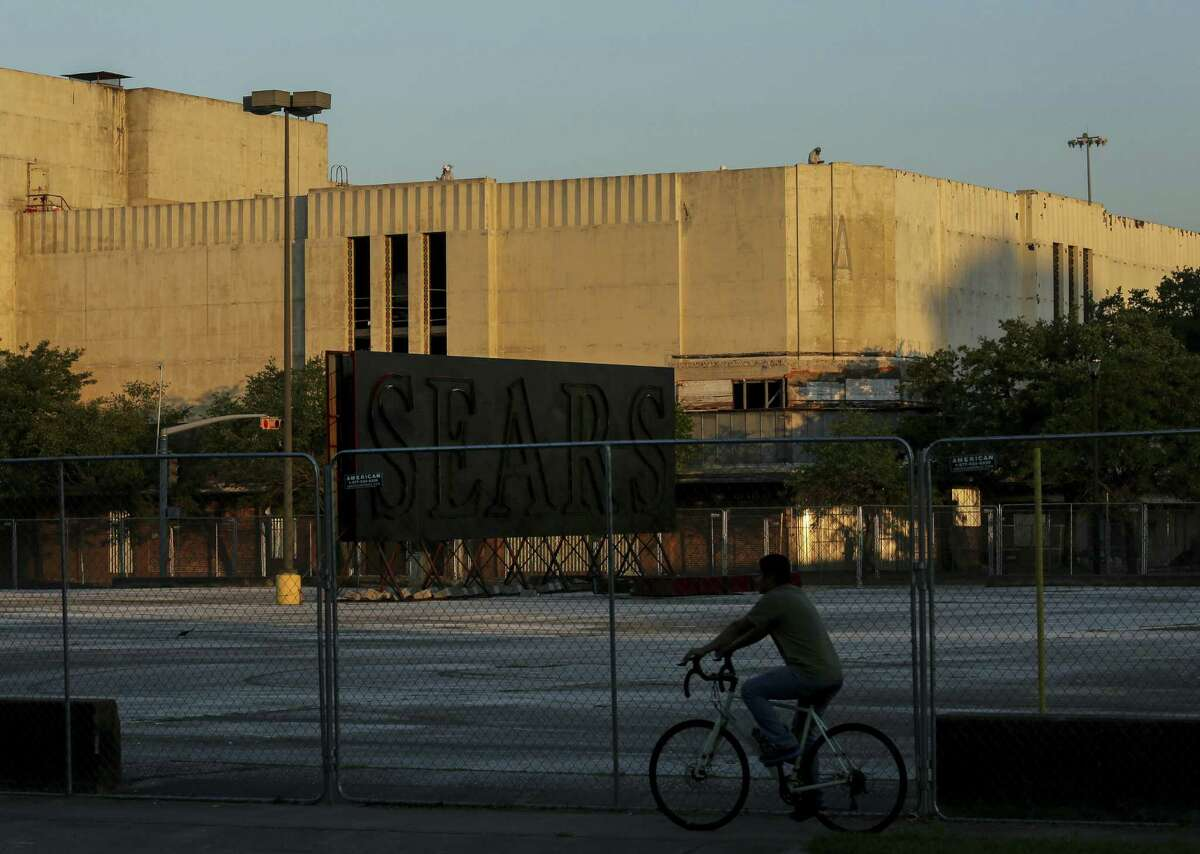 Rice University plans to renovate the former Midtown Sears building into the Ion. Photographed Wednesday, June 12, 2019, in Houston.