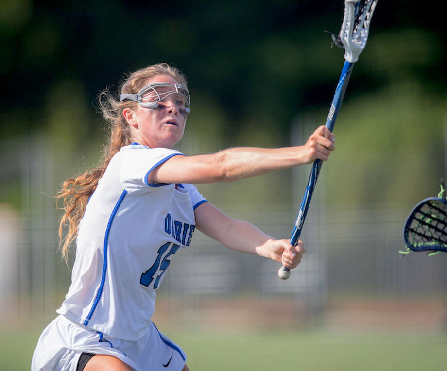 Laura Murphy spearheaded a second-half mass attack. Courtesy Darien Athletic Foundation