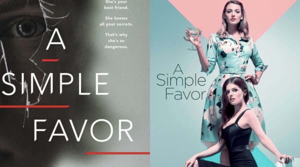 A Simple Favor will be screened at the Darien Library Friday night.