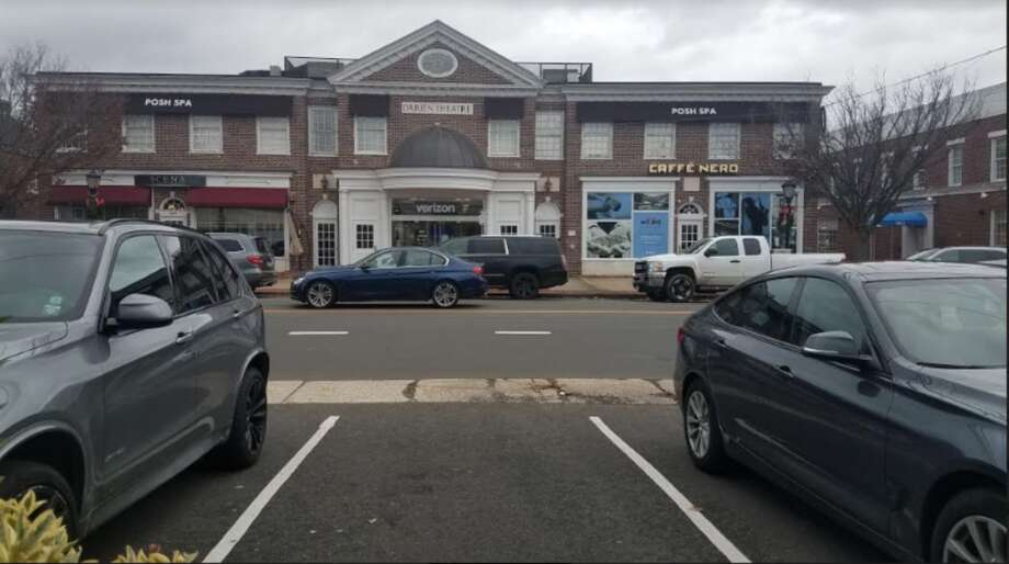 Boston Post Road in Darien. Town officials are pushing for more crosswalks in this location. — Sandra Diamond Fox photo
