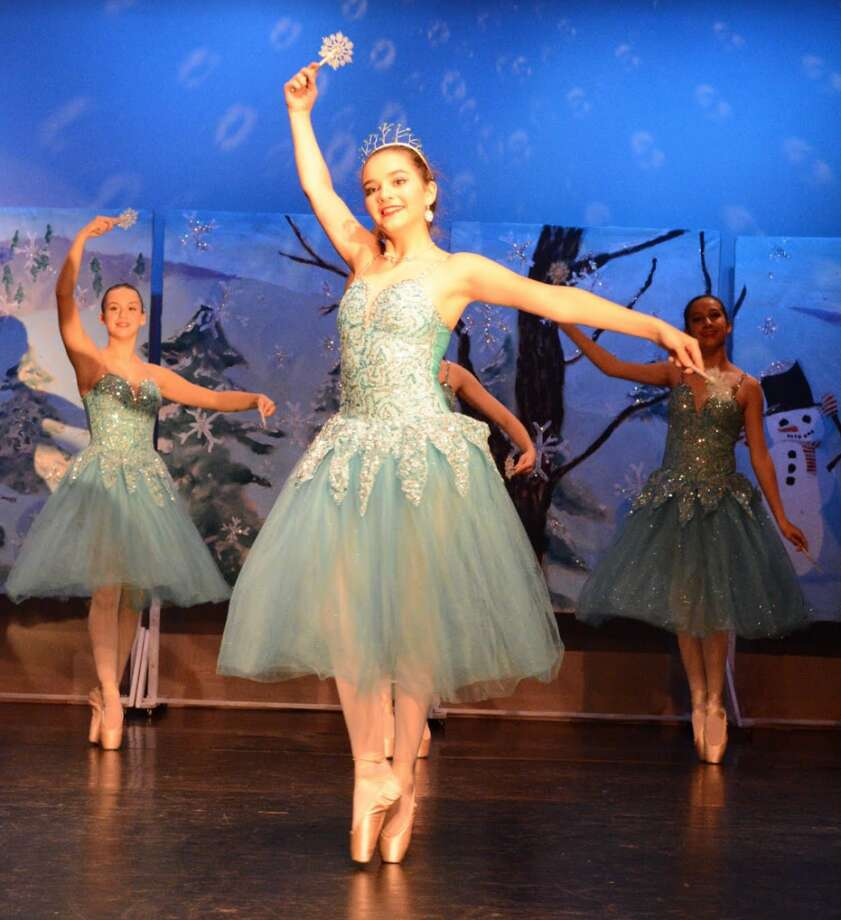 Meghan Wood in the 2017 production of Scenes from the Nutcracker, a show performed by the Darien Art Center's dance companies and geared for younger audiences is taking place at the DAC Weatherstone Studio at 2 Renshaw Road, behind the Darien Town Hall.