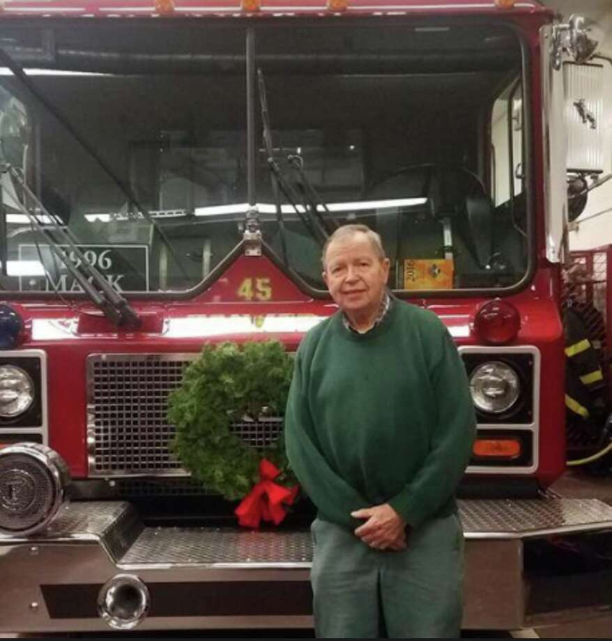 Longtime Darien volunteer firefighter Robert Eldredge. — Shane Smith photo
