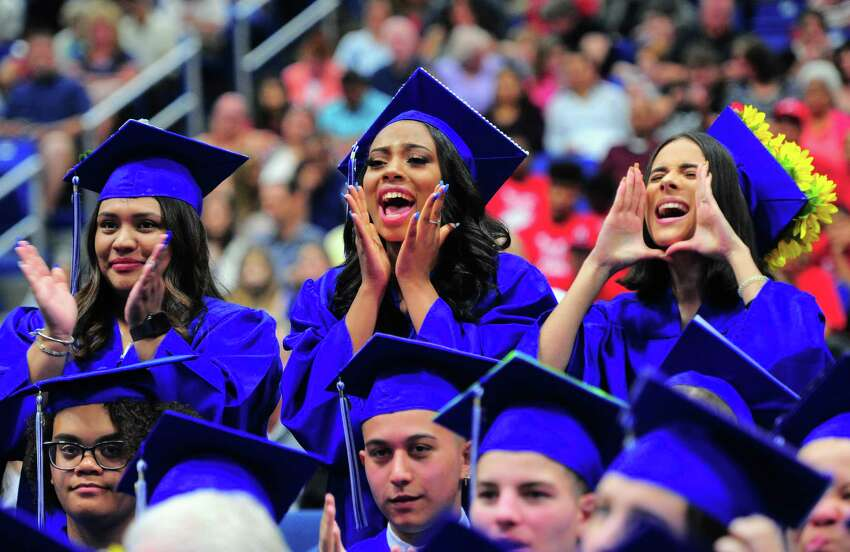 Abbott Tech's Commencement Exercises at at the O'Neill Center at Western Connecticut State University in Danbury, Conn., on Wednesday June 19, 2019.