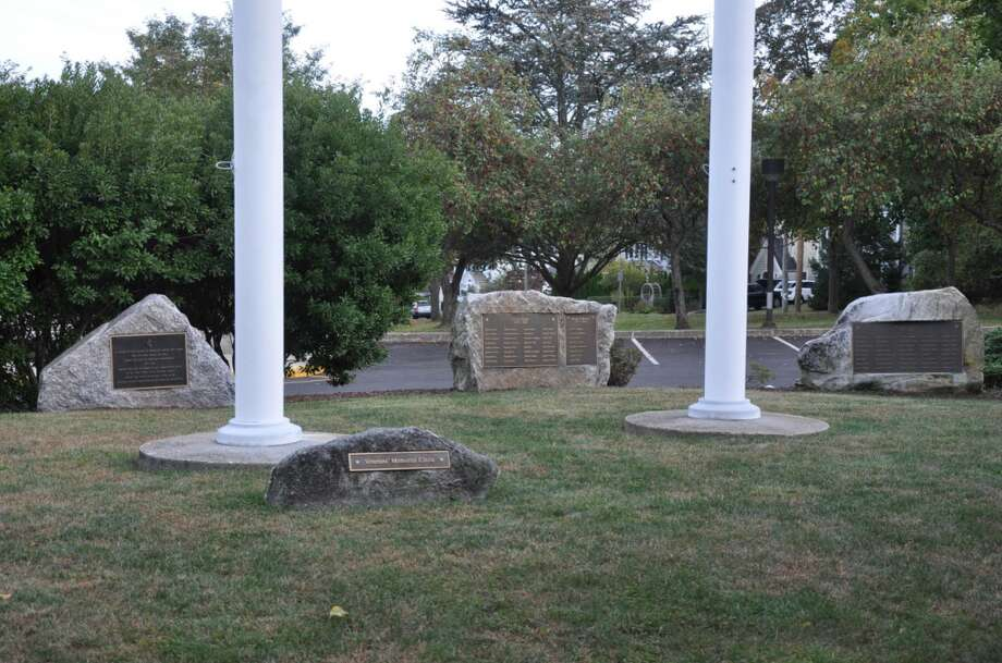 The Darien Veterans Circle at Darien Town Hall.