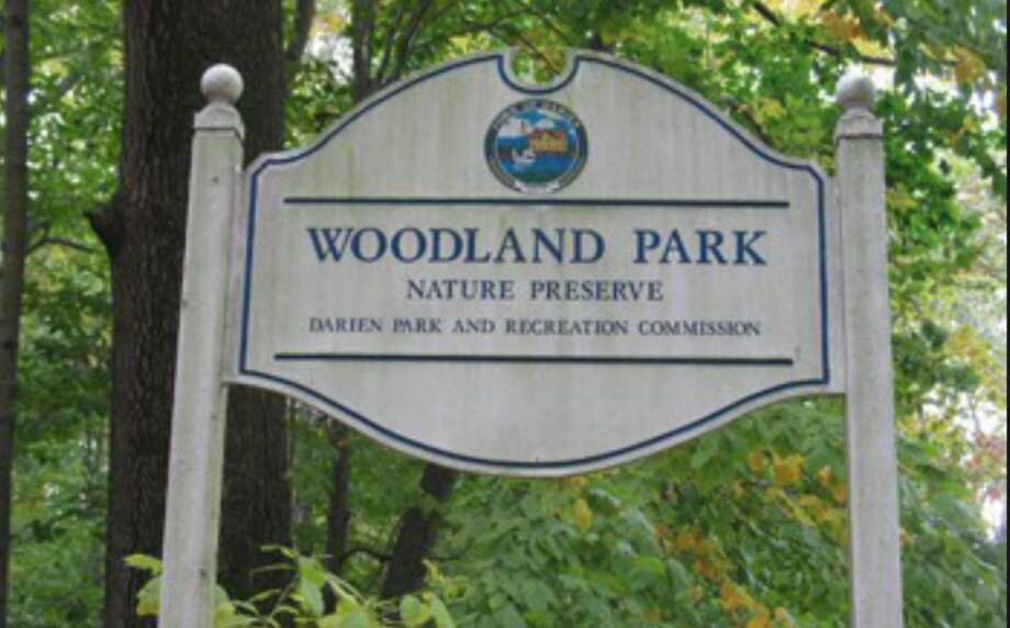 Woodland Park, one of Darien's town parks.