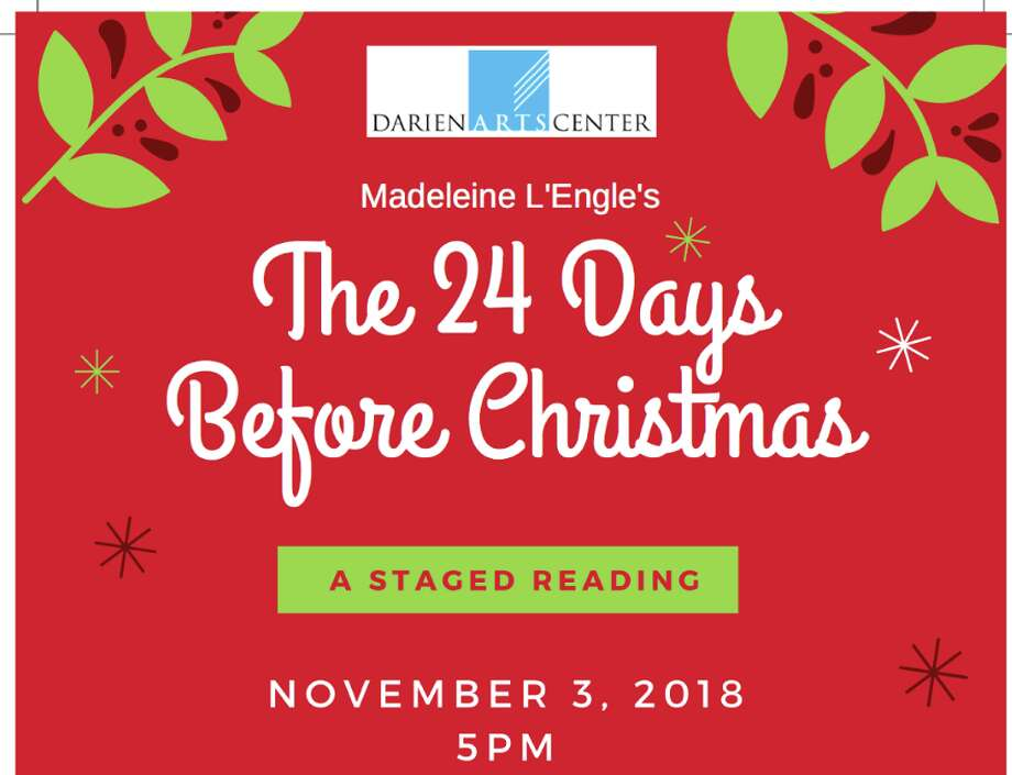How Many Days Before Christmas.The 24 Days Before Christmas Staged Reading Talk With