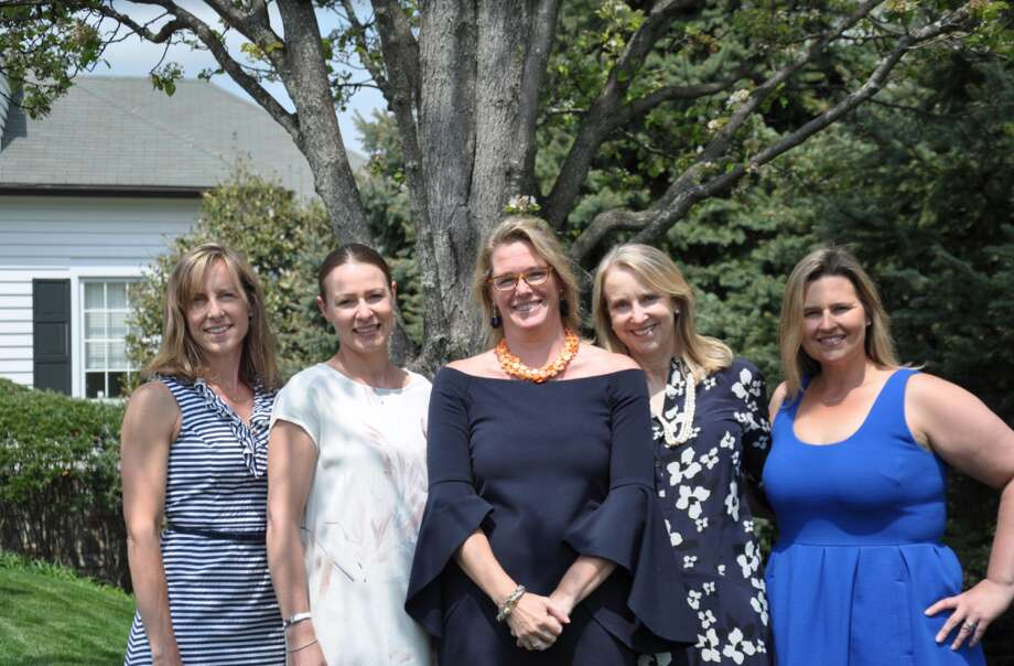 The Darien Youth Mental Health Project — Sue Blenke, Pernille Jacobsen, Wendy Ward, Randi Silverman, and Carolyn Bozutto - not pictured Jenny Murphy and Christine Stark