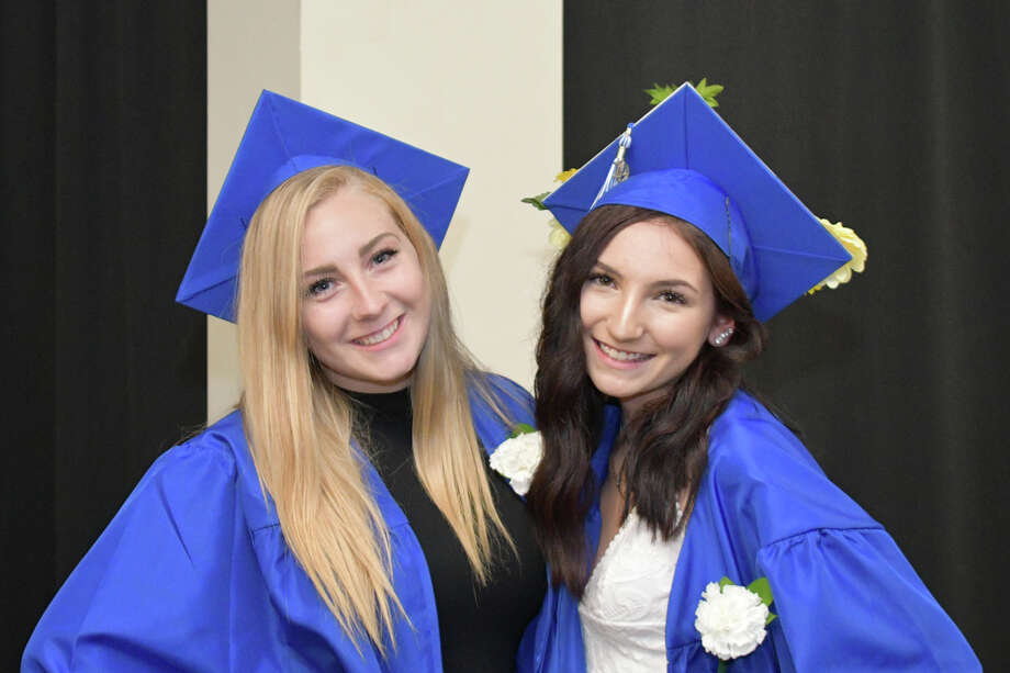 The Oliver Wolcott Technical High School Graduation Commencement was held on Jun 19, 2019 at The Warner Theatre in Torrington, CT. Photo: Lara Green- Kazlauskas/ Hearst Media