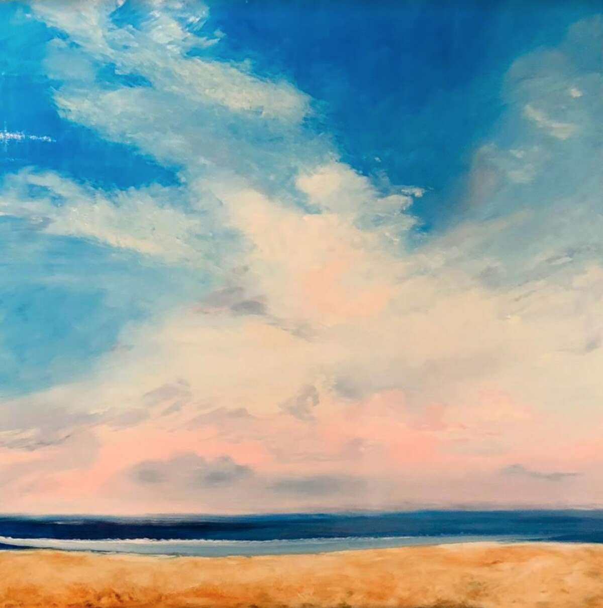 Artwork by Vicki French Smith will be on display at the Darien Nature Center