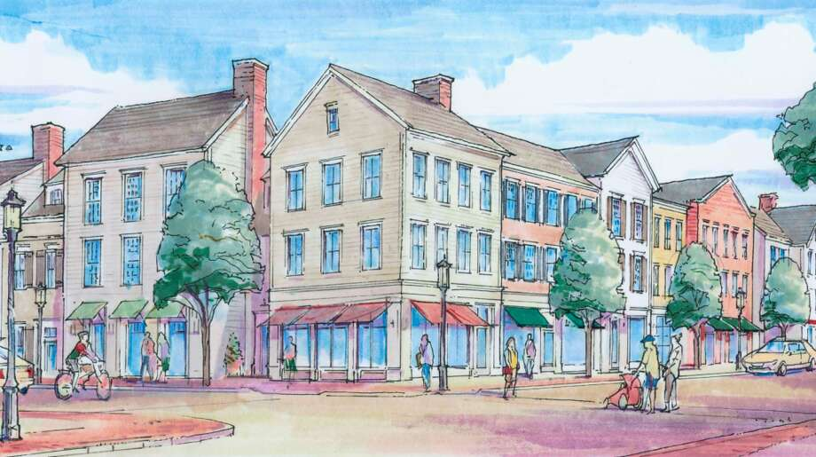 A sketch of the proposed Corbin Project's street view provided by Beinfield Architecture.