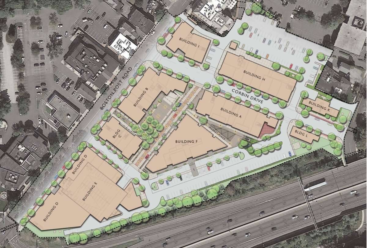 An overview of the Corbin Project site plan provided by Beinfield Architecture.