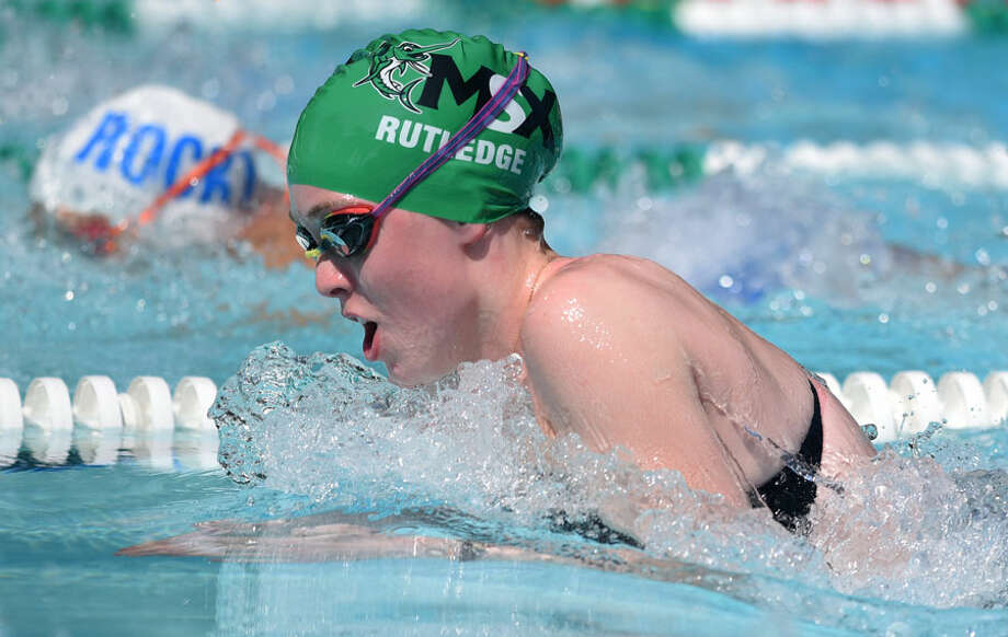 The Middlesex Swim Team hosted the FCSL Div. I championships on Aug. 7. — Dave Stewart photo
