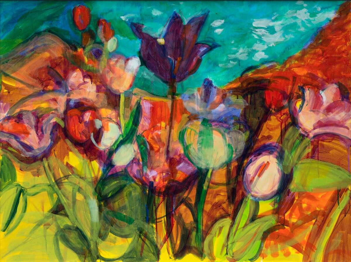 """Crystal Garden Hermitage"" by Barbara Hawes."