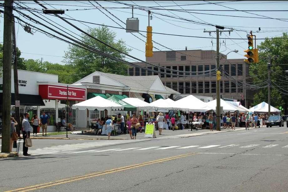 Last day of Darien's sidewalk sales is Saturday.