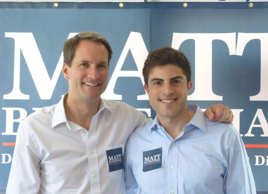 Congressman Jim Himes recently endorsed Matt Blumenthal for state senator of the 147th district, which represents part of Darien and Stamford.