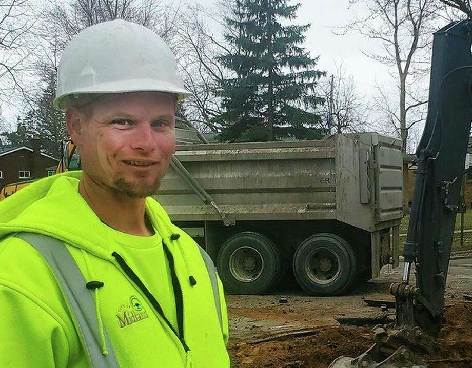 Matt Knopp is a water distribution mechanic for the City of Midland. (Photo provided)
