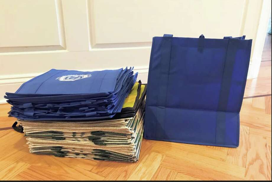 Person-to-Person is collecting reusable bags for its clients to use when taking food and clothing donations.