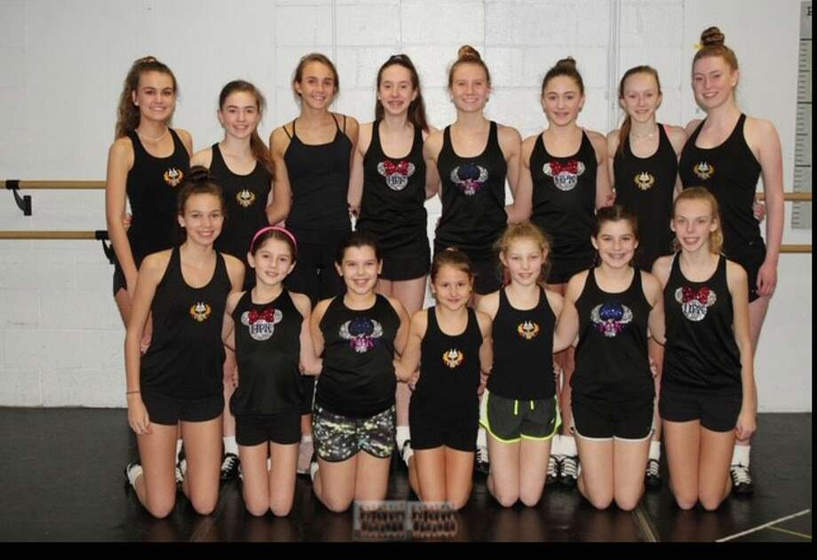 Dancers from the Harney Pender Keady Academy are Dancers from the Harney Pender Keady Academy are heading to the world championships. Back row, from left: Brigitte Reid, Lindsay Smith, Charlotte Sulger, Gigi Pascal, Katherine Gould, Emily Hayes, Charlotte VanIngen and Alexa Barrett. Front row: Charlotte Reid, Maisie Pascal, Riley Keating, Sylvia Mickels, Carrie Coughlin, Katie Keating and Grace Hanley. Missing from photo: Katie Lane, Peyton Reynertson — Harney Pender Keady Academy