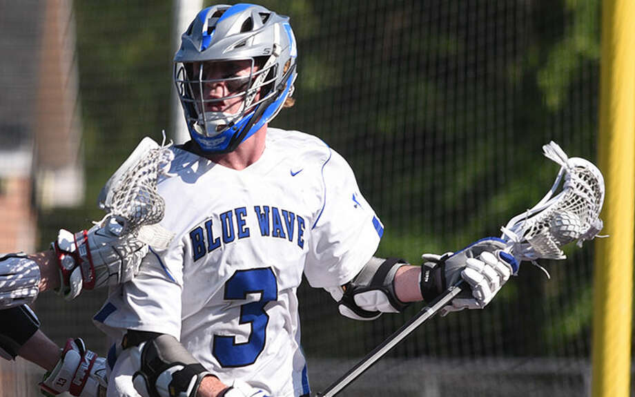 Darien's Hudson Pokorny returns as a senior co-captain and a leading weapon on attack. — Dave Stewart photo